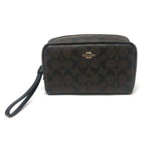 Coach Women's Boxy Cosmetic Makeup Holder Bag Case